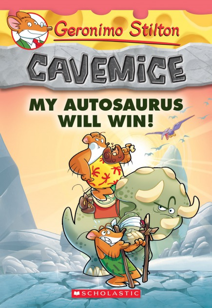 Cavemice #10: My Autosaurus Will Win!