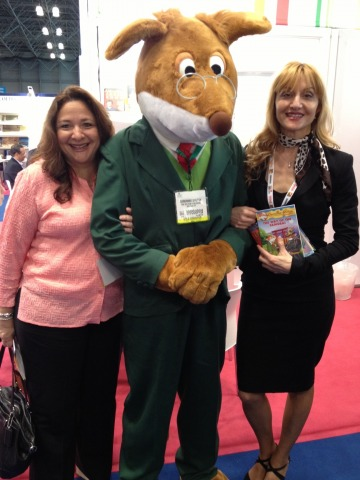 Geronimo Stilton Makes Appearance and Book Expo America!