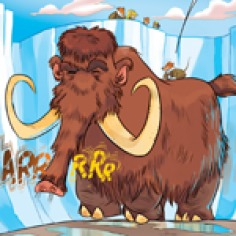 """Comic #5 """"The Great Ice Age"""""""