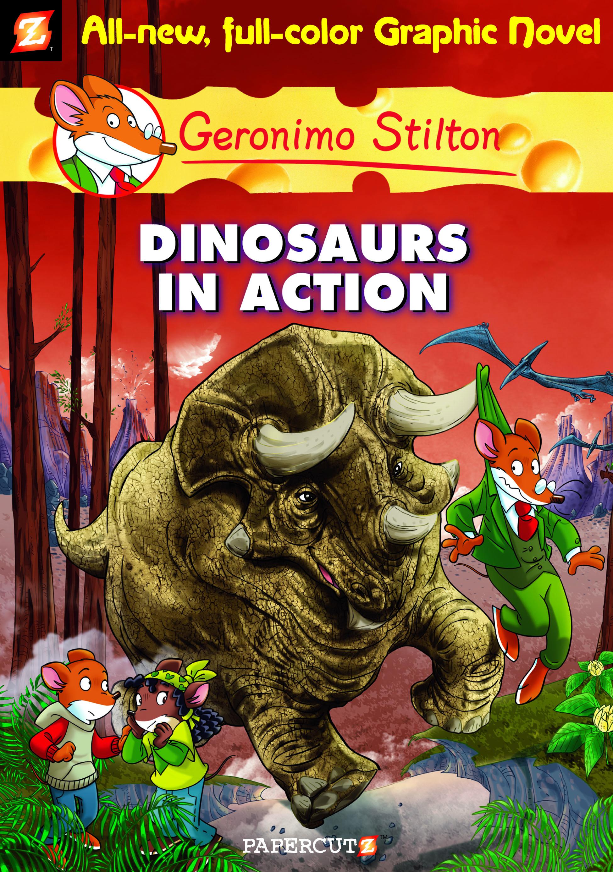 Geronimo Stilton Comics 7 Dinosaurs In Action
