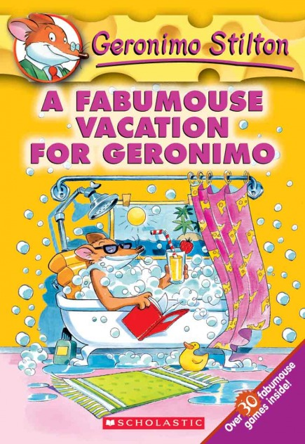 Geronimo Stilton #9: A Fabmouse Vacation for Geronimo