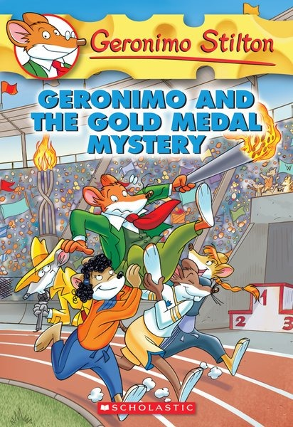 Geronimo Stilton #33: Geronimo and the Gold Medal Mystery