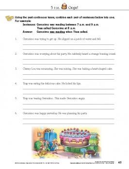Geronimo Stilton Academy Grammar Pawbook 3