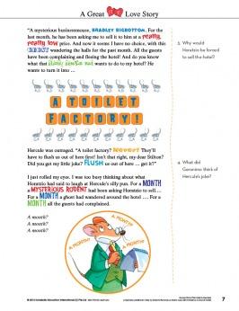Geronimo Stilton Academy Comprehension Pawbook 3