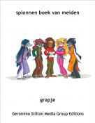 grapje - spionnen boek van meiden