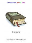 Giorgigna - Indicazioni per il sito