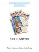 Sofía V.-Vulpecula - Para la saga de Ash:(Peronajes)