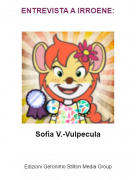 Sofía V.-Vulpecula - ENTREVISTA A IRROENE: