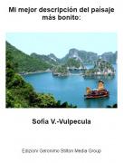 Sofía V.-Vulpecula - Mi mejor descripción del paísaje más bonito: