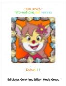 Dulce211 - rato-new's:rato-noticias del verano