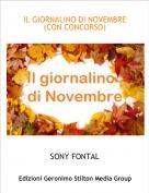 SONY FONTAL - IL GIORNALINO DI NOVEMBRE(CON CONCORSO)