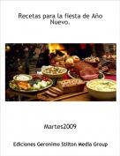 Martes2009 - Recetas para la fiesta de Año Nuevo.