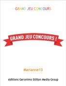 Marianne13 - GRAND JEU CONCOURS