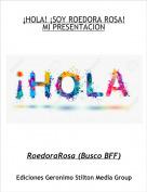 RoedoraRosa (Busco BFF) - ¡HOLA! ¡SOY ROEDORA ROSA!MI PRESENTACION