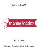 RATICLARA - MANUALIDADES