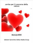 Melody4000 - avviso per il concorso della natura