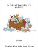 calista - de duizend diamanten zijn gestolen