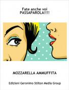 MOZZARELLA AMMUFFITA - Fate anche voi PASSAPAROLA!!!!