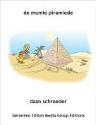 daan schroeder - de mumie piramiede