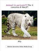 Aily - Animali in pericolo!!!! Per il concorso di MaryF!