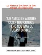 ruti3003 - La Historia De Amor De Dos Amigos (Introducción)