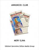 MERY GJNA - ANNUNCIO: CLUB