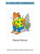 Ratisa Ratirubi - NO SEGUIRÉ ESRIBIENDO