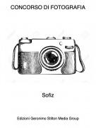 Sofiz - CONCORSO DI FOTOGRAFIA