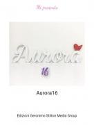 Aurora16 - Mi presento