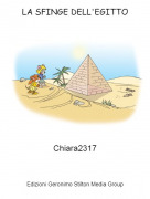 Chiara2317 - LA SFINGE DELL'EGITTO
