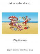 Filip Crousen - Lekker op het strand...