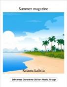 Ratoncitalista - Summer magazine