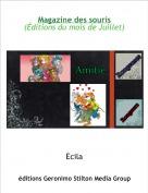 Ecila - Magazine des souris(Éditions du mois de Juillet)