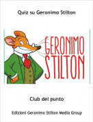 Club del punto - Quiz su Geronimo Stilton