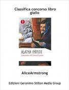AliceArmstrong - Classifica concorso libro giallo