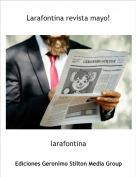 larafontina - Larafontina revista mayo!