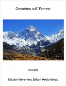 dustin - Geronimo sull' Everest