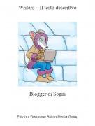 Blogger di Sogni - Writers ~ Il testo descrittvo