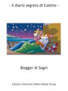 Blogger di Sogni - ~ Il diario segreto di Colette ~