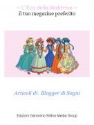 Articoli di: Blogger di Sogni - ~ L'Eco della Roditrice ~il tuo megazine preferito