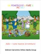 Ada--->una nuova avventura - UN POMERIGGIO A FARE IL PIC-NIC!