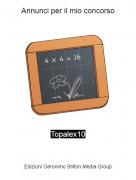 Topalex10 - Annunci per il mio concorso