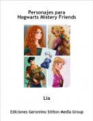 Lía - Personajes paraHogwarts Mistery Friends