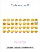PAULA TKM - Fin del concurso!!!