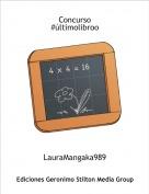 LauraMangaka989 - Concurso #últimolibroo