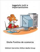 Giulia Fontina de scamorza - leggetelo tutti e importantissimo