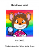 Auri2010 - Nuovi topo-amici