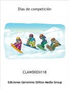 CLAWDEEN118 - Días de competición