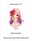 RatoncitaStar - personajes !!!!!