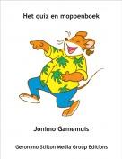 Jonimo Gamemuis - Het quiz en moppenboek